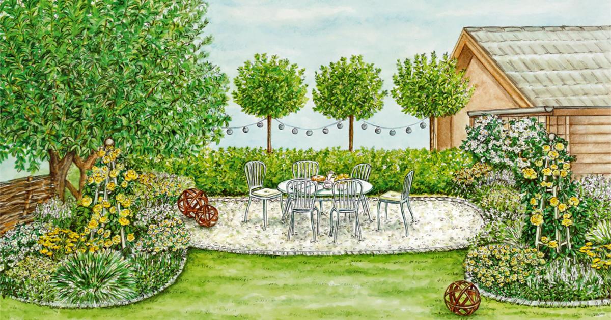 Dunkle Gartenecke neu gestalten  Mein schner Garten