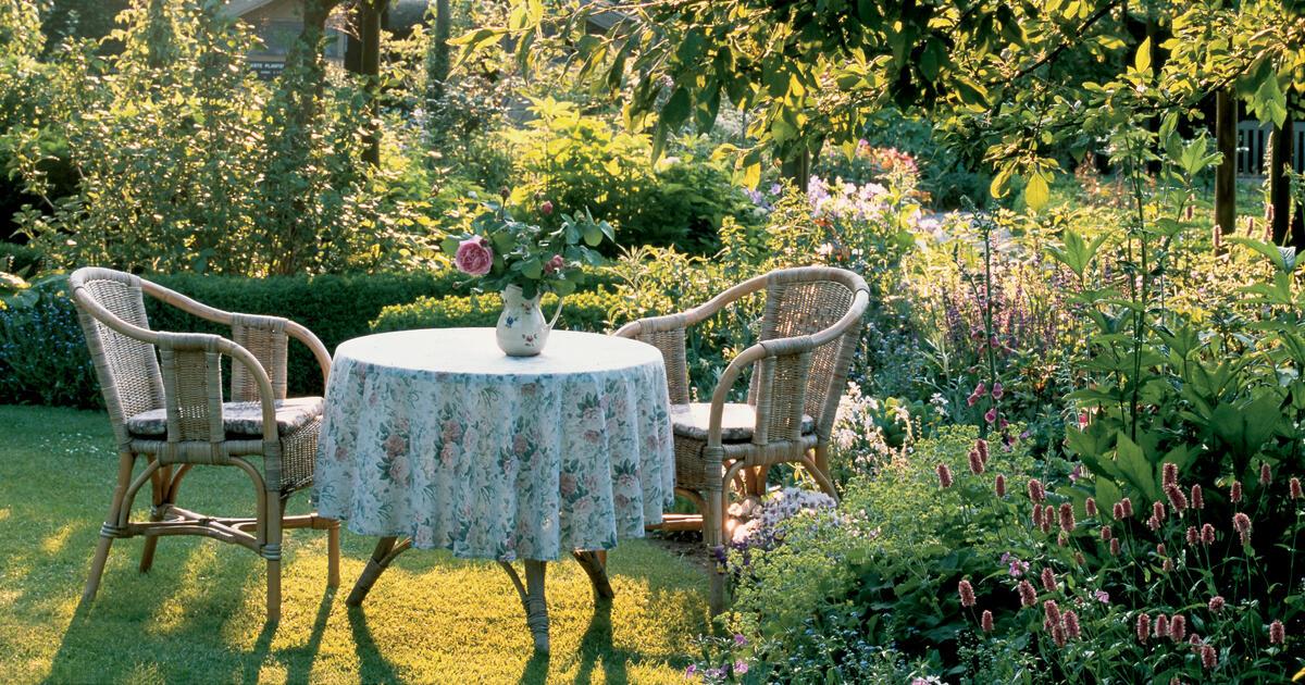 Den Garten pflegeleicht gestalten  Mein schner Garten