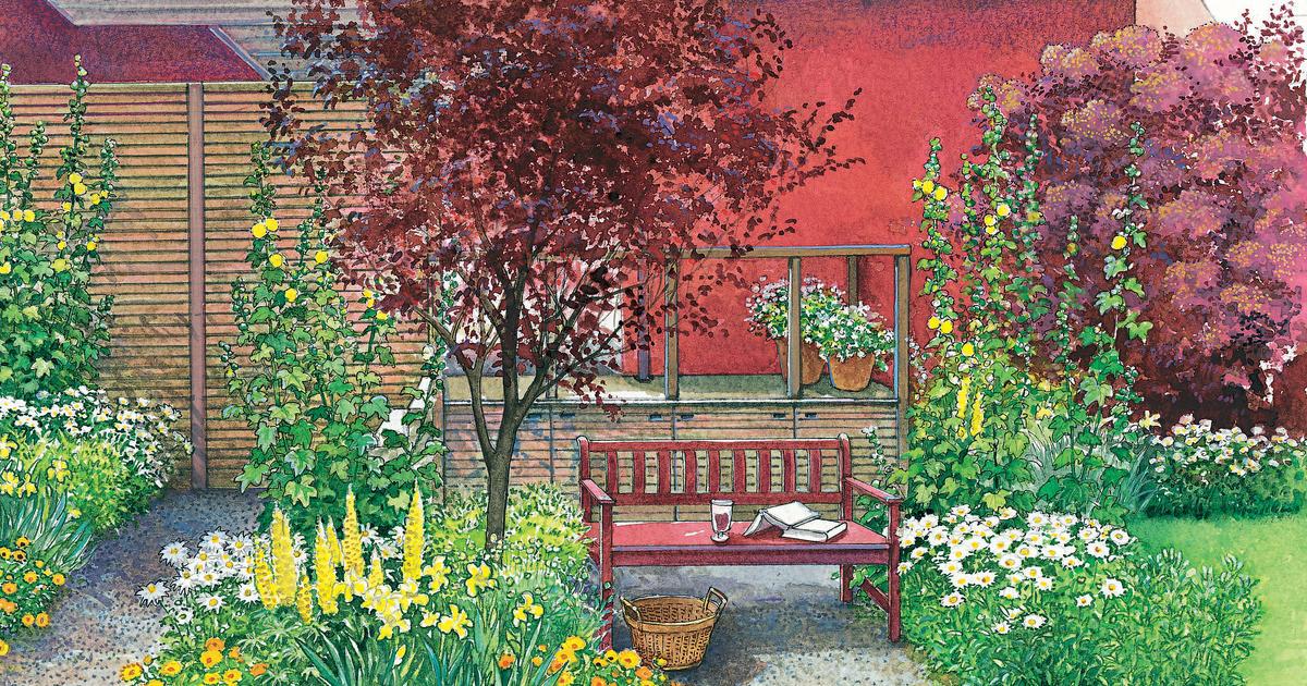Gestaltungsideen Gartenecke umgestalten  Mein schner Garten