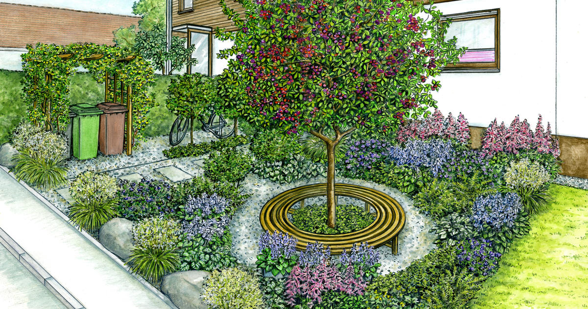 Gestaltungsideen für den Vorgarten   Mein schöner Garten