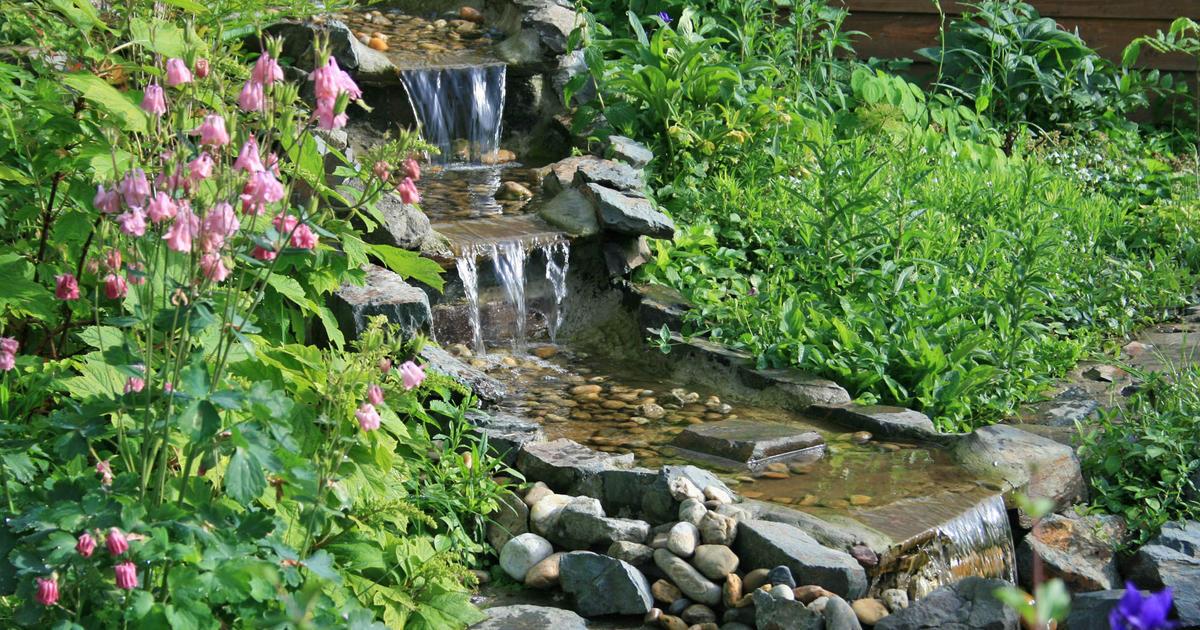 Wasserfall selber bauen  Mein schner Garten