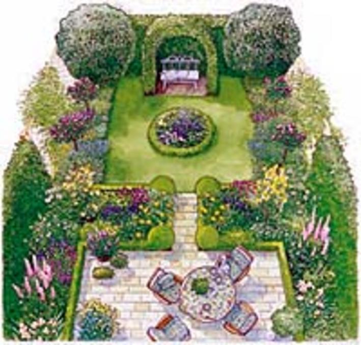Gartenhaus Farblich Gestalten gartenhaus dekorieren