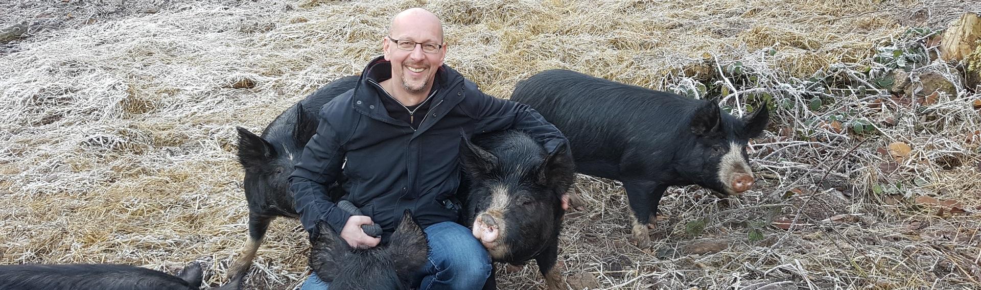 Meine Patenschaft für ein Berkshire-Schwein