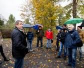 Standort Feuerwehrgerätehaus: CDU macht sich vor Ort ein Bild und kritisiert Stimmungsmache der Opposition
