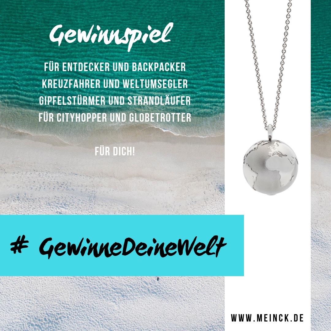Gewinne Deine Welt  Schmuck Atelier Meinck