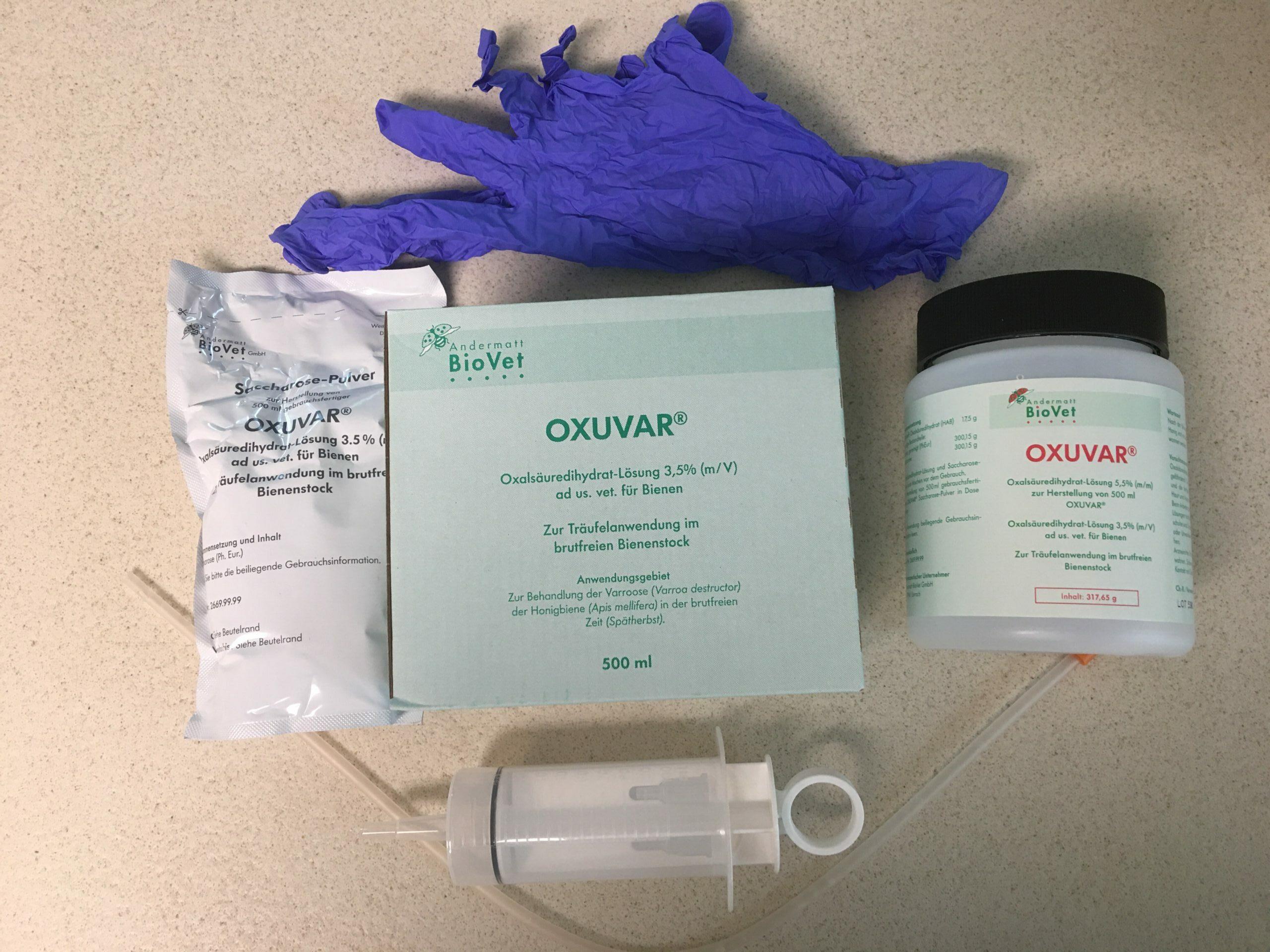 Winter Oxalsäure Behandlung Ausstattung