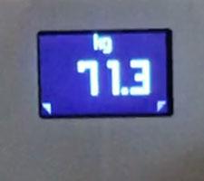 Gewichtsverlagerung