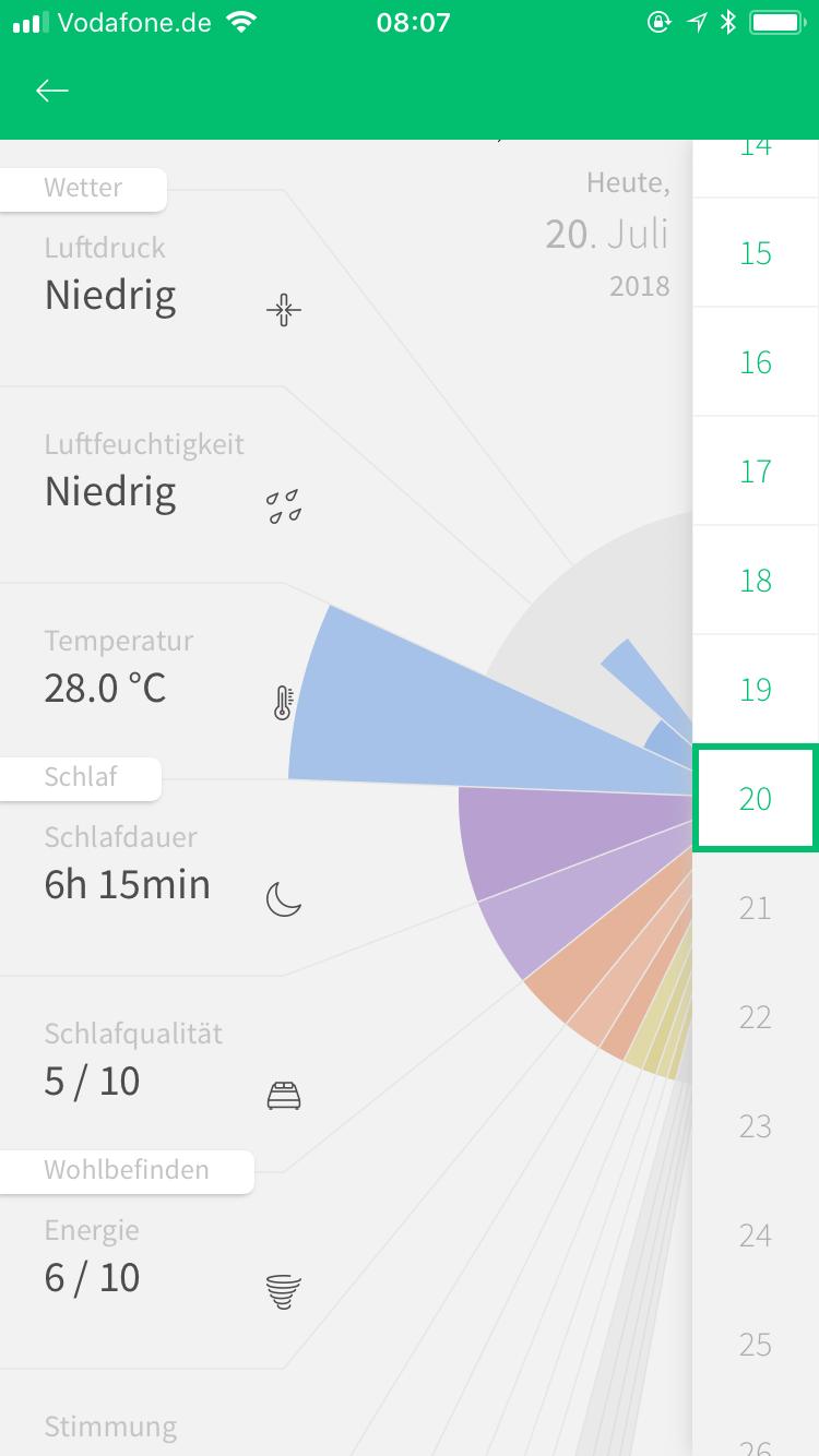 Migräne-App M-sense
