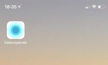 """Corona-Datenspende"" App"