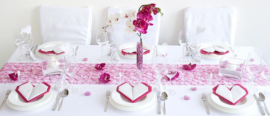 Tischdeko Hochzeit in Pink  Ratgeber