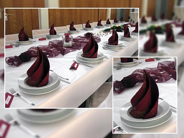 Servietten falten  Hochzeitsblog