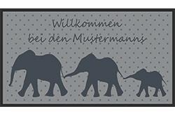 meinedesignmatte_namensmatte_family_elefant_1