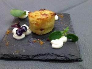 Doeppekooche-Muffin mit Heilbutt