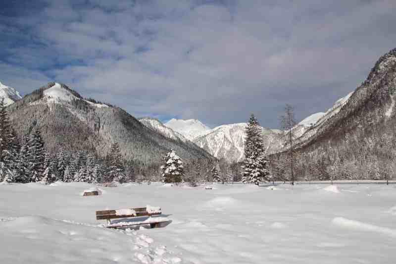 Schneelandschaft Pertisau