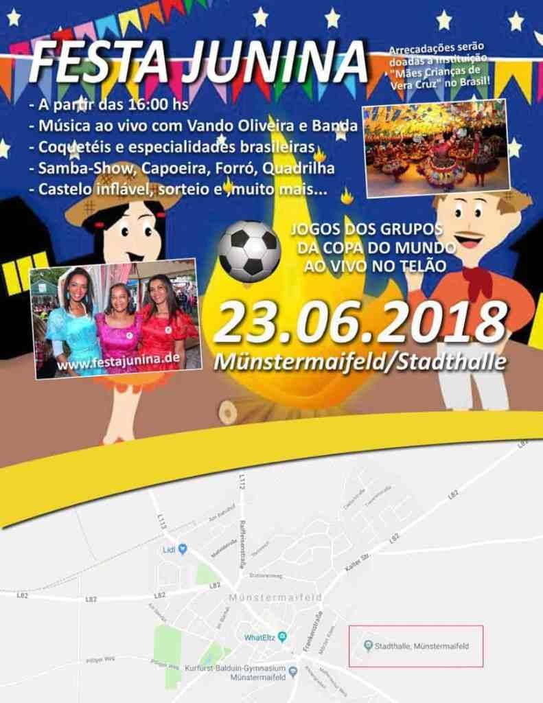 Wunderschön Die Festa Junina Brasilianisches Junifest In