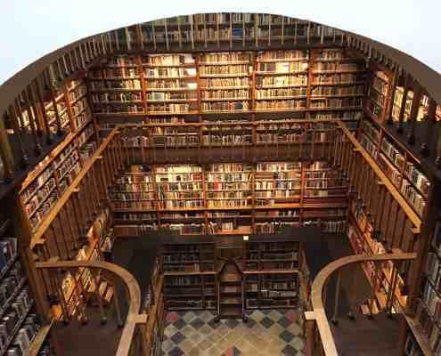 Die Klosterbibliothek von Maria Laach