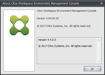 HowTo: Update Citrix Workspace Environment Management from 4.x to 4.4 (v4.04.00.00)