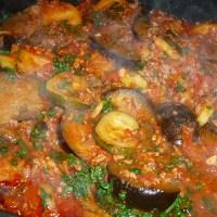 Kartoffel - Zucchini - Aubergine - Hackfleisch - Auflauf