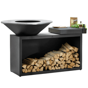 OFYR Island Black 100 Ceramic Dark Grey