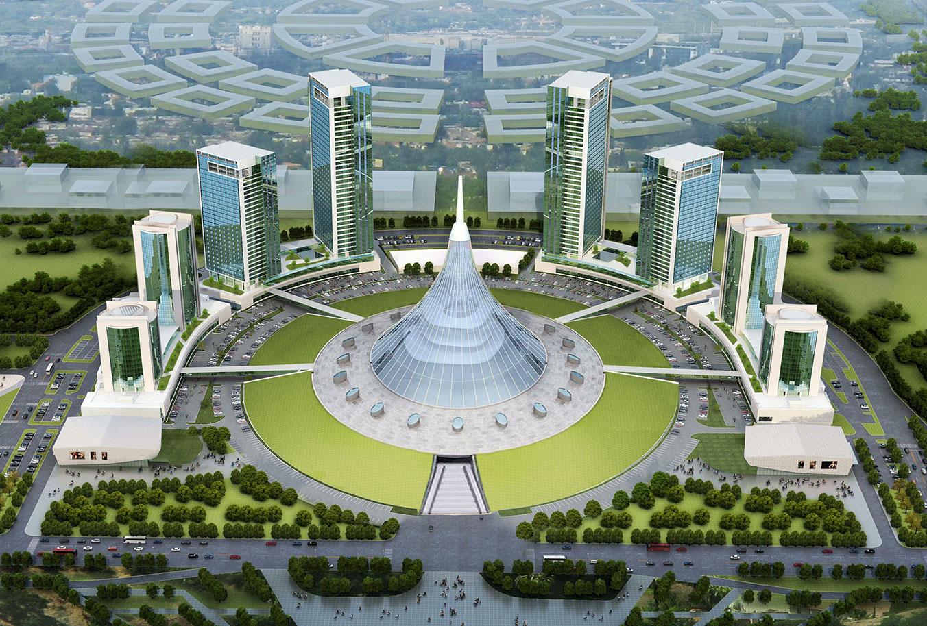 Khan Shatyr Towers Kazakhstan  Meinhardt  Transforming