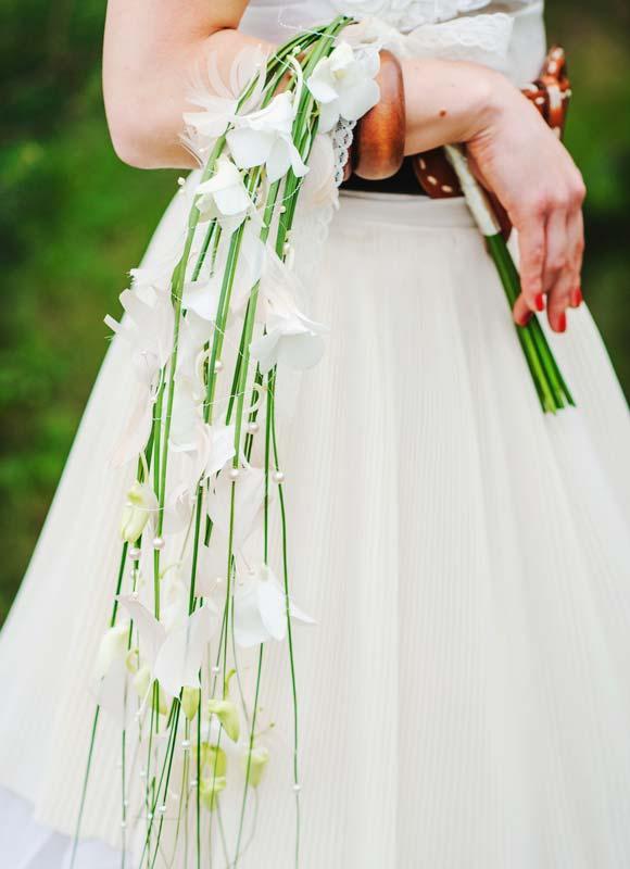 Brautstrauformen von Biedermeier und Wasserfall bis Zepterbrautstrau  Mein HochzeitsRatgeber