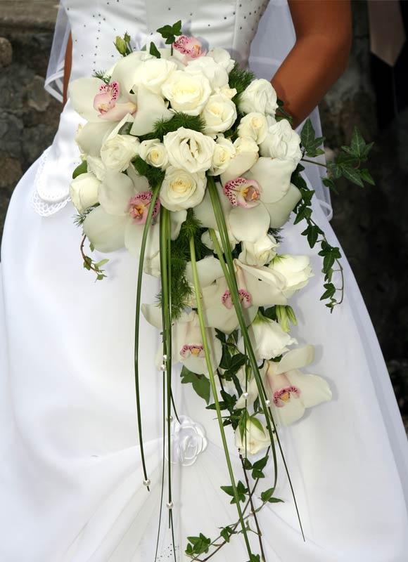 Der Brautstrau  Blumen Farben und Formen  Mein