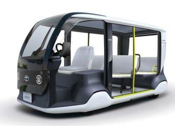 """Toyota entwickelt Mobilitätsfahrzeug """"APM"""" für Tokio 2020, Transport von Athleten, Offiziellen und Besuchern der Olympischen Spiele - Unternehmen"""