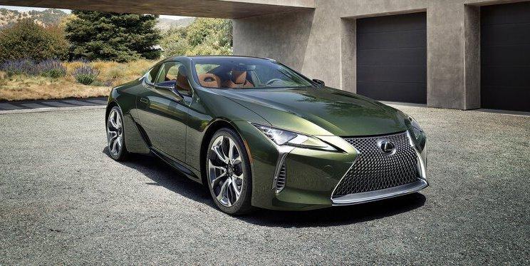Limitierte Lexus LC Club Edition