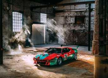 BMW M1 Art Car von Andy Warhol