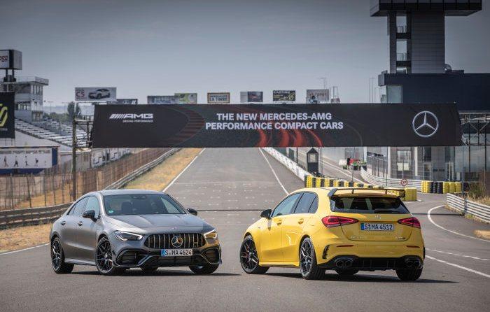Mercedes-AMG A 45 4MATIC+ und CLA 45 4MATIC+
