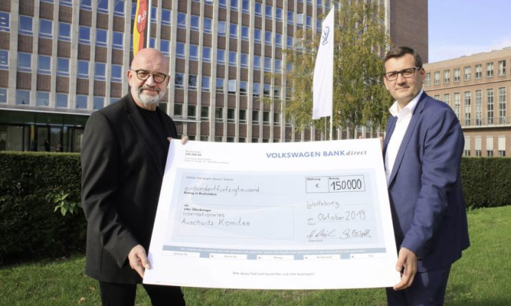 Volkswagen spendet 150.000 Euro