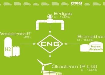 Biomethan bringt CNG voran