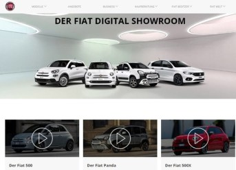 FIAT Digital Showroom