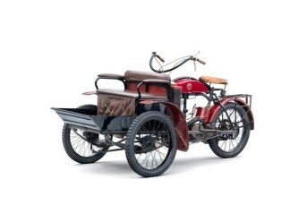 LW-Dreirad von Laurin & Klement