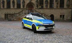 Polizeiwagen mit Wasserstoff-Antrieb