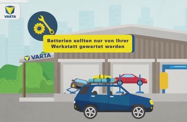 Batteriepflege