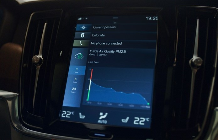 Volvo Luftqualitätssystem