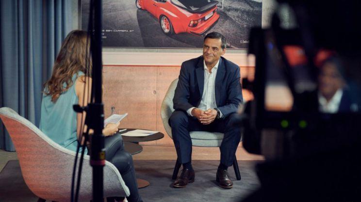 Michael Steiner, Vorstandsmitglied für Forschung und Entwicklung, 2020, Porsche AG