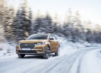 DS7 CROSSBACK im Winter