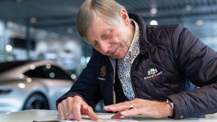 Gijs van Lennep, 2020, Porsche AG