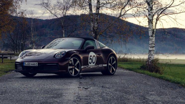 911 Targa 4S Heritage Design Edition, 2020, Porsche AG