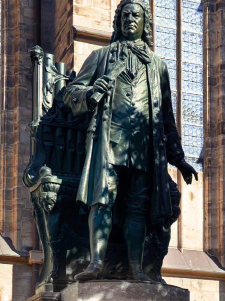 Johann Sebastian Bach Denkmal, Leipzig, 2020, Porsche AG