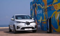 Renault ZOE an einer Wallbox