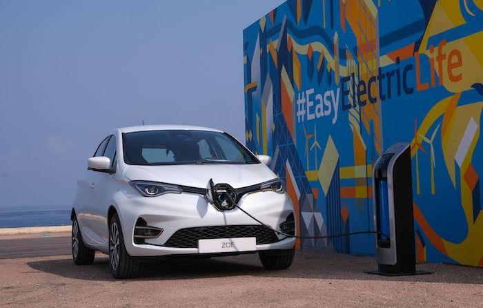 Renault ZOE an einer Wallbox