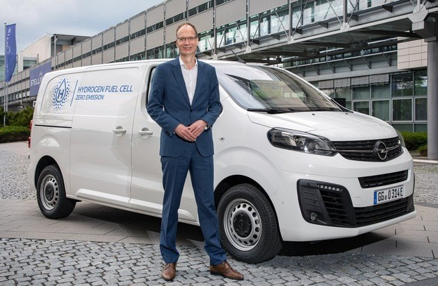 Opel Vivaro-e HYDROGEN mit Brennstoffzelle