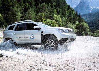 Dacia Duster Bergrettung