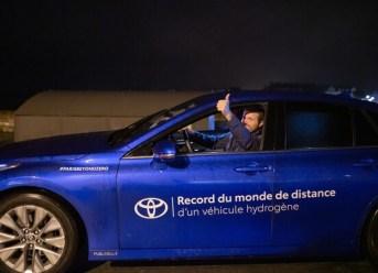 Toyota Mirai Reichweitenrekord