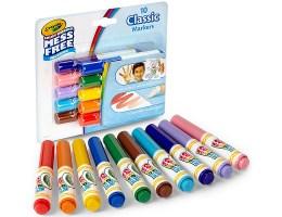 Crayola Color Wonder Stifte 10Teile   Farbe & Kreide