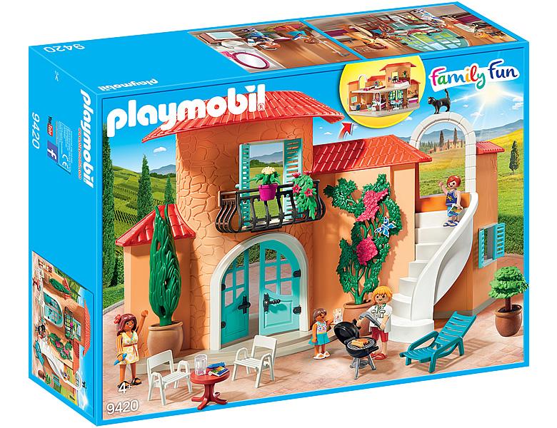 PLAYMOBIL FamilyFun Sonnige Ferienvilla 9420