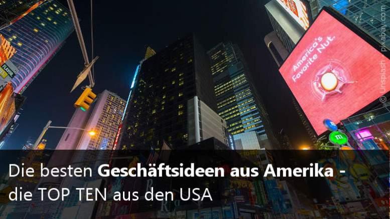Geschäftsideen USA